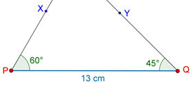 Line segments and rays