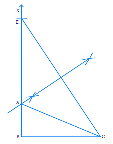 Construct a right triangle whose base is 12 cm and sum of its hypotenuse and other side is 18 cm.