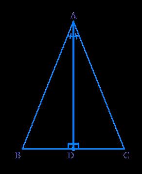 Angle bisector - Isosceles triangle
