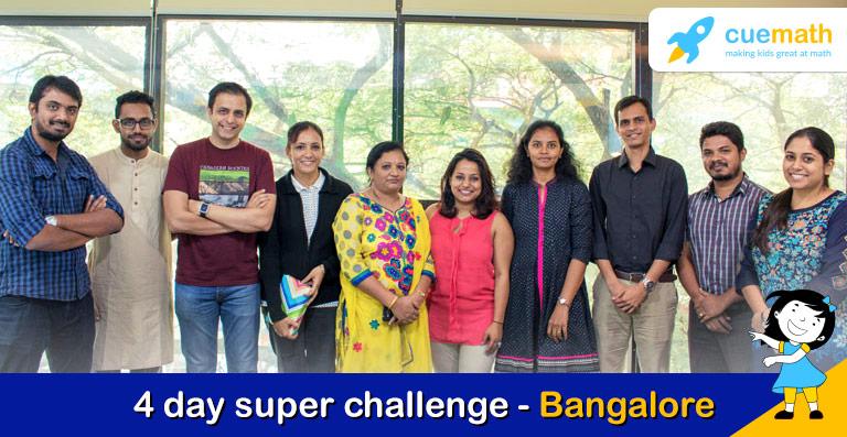4 day challenge - cuemath bangalore
