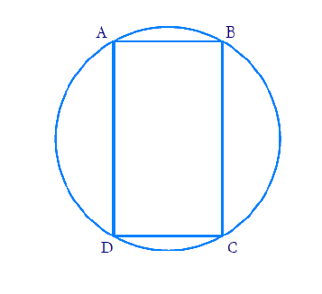 Prove that a cyclic parallelogram is a rectangle.