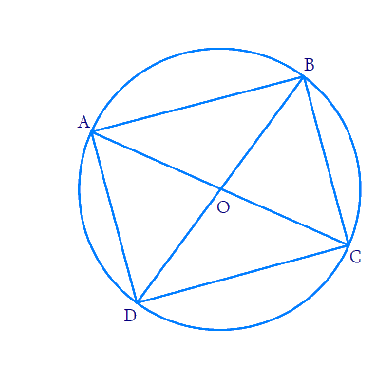If diagonals of a cyclic quadrilateral are diameters of the circle through the vertices of the quadrilateral, prove that it is a rectangle.