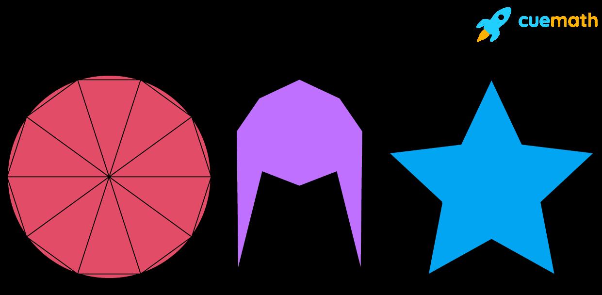 Decagon - 10 sided polygon