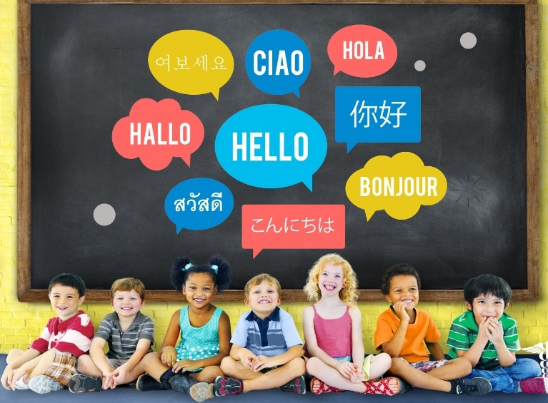 Kids learning new languages