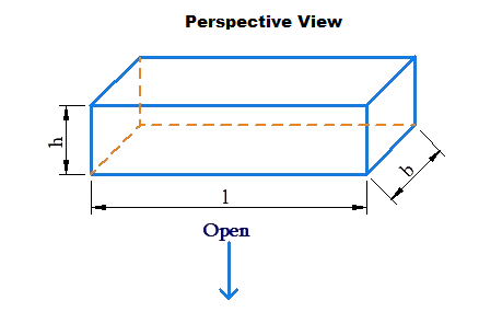 Perspective view of cuboid