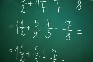 Solving fractions