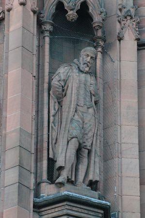 Statue of John Napier, Scottish National Portrait Gallery