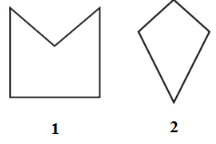 Classify each of them on the basis of the following.(a) Simple curve (b) Simple closed curve (c) Polygon (d) Convex polygon (e) Concave polygon