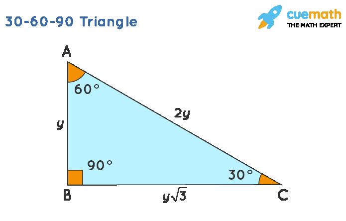 30-60-90 triangle formula