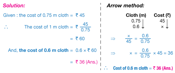Image result for unitary method formula
