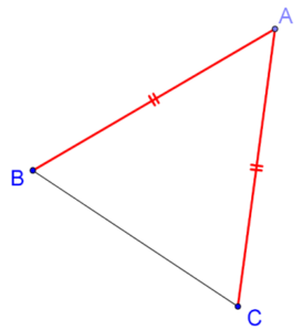 Vertical angle and base