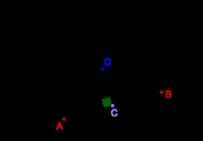 Two circles, tangent and radius