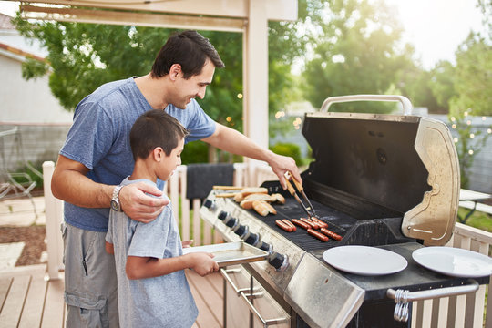 Backyard barbeques for children