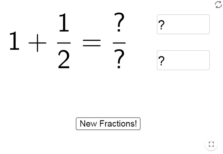Fractions Addition