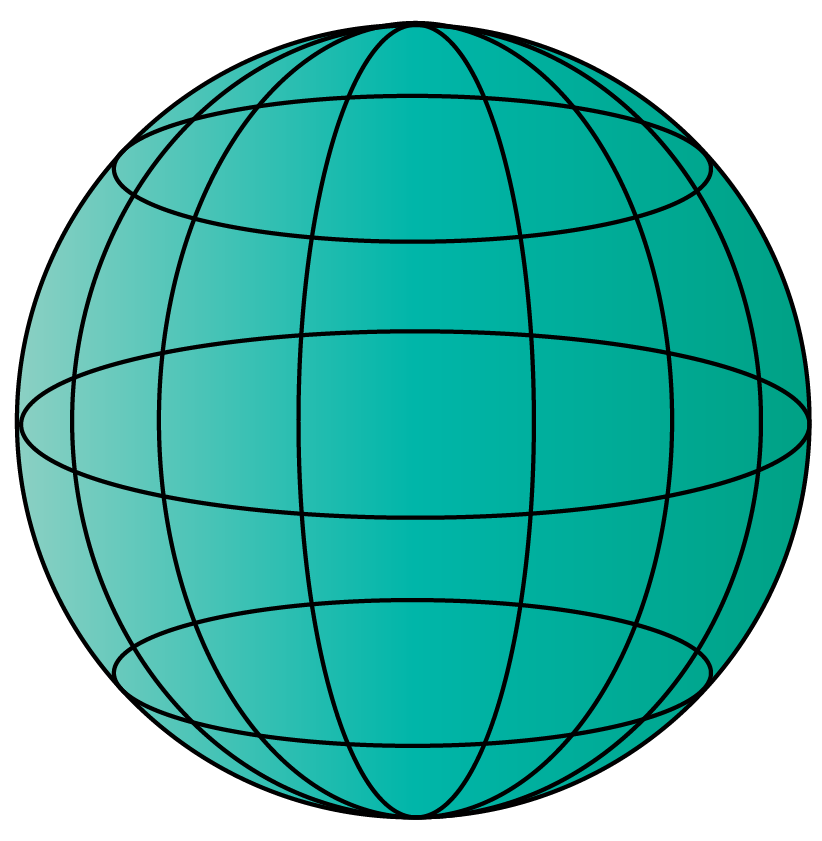 sphere - 3d shape
