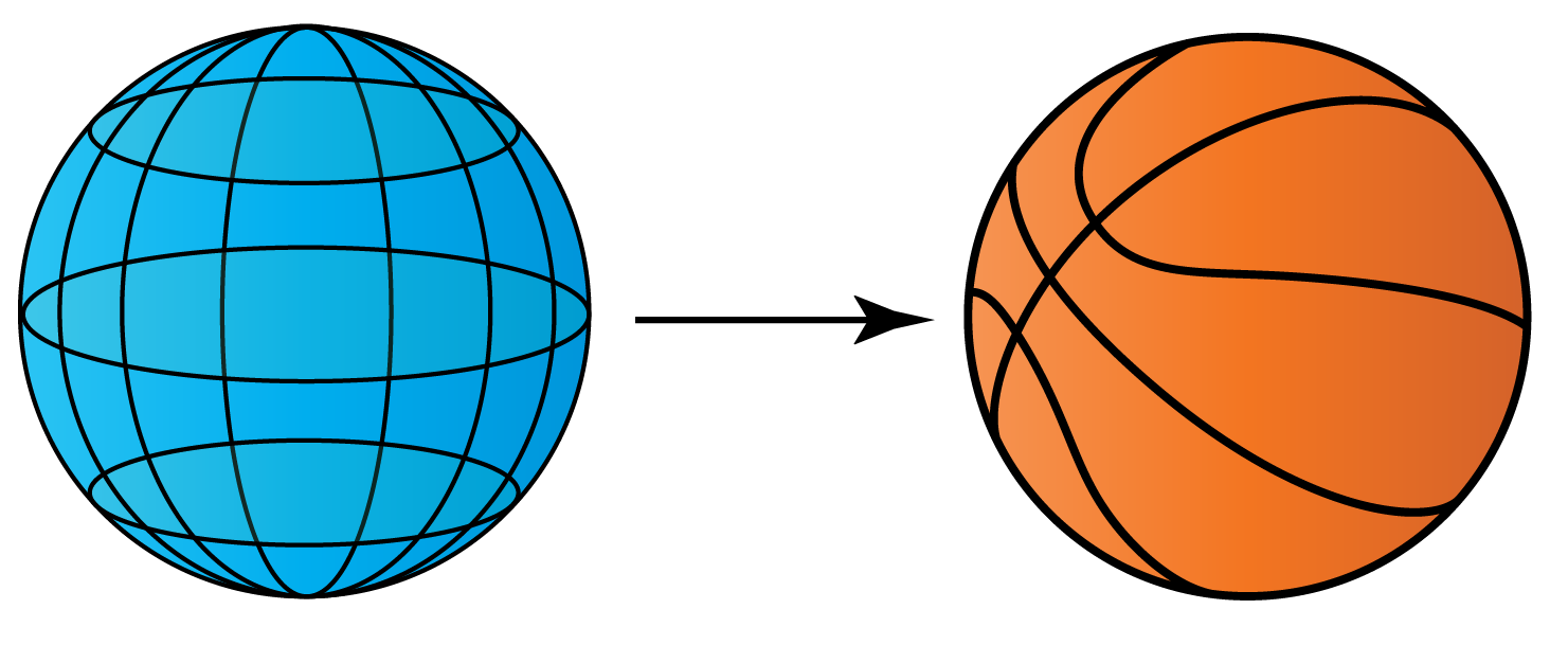 sphere  - example basket ball