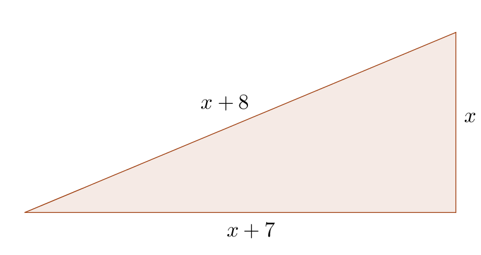 Pythagoras Theorem - Right-angled triangle