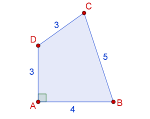 Area of the quadrilateral