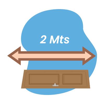 2mts distance