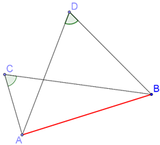 Four Concyclic points