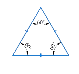 What is a regular polygon? State the name of a regular polygon of (i) 3 sides (ii) 4 sides (iii) 6 sides