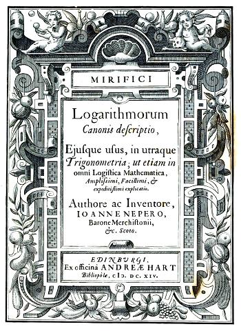 Mirifici Logaithmorum Canonis Constructio