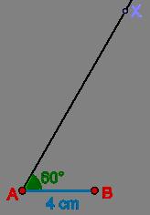 Ray and angle