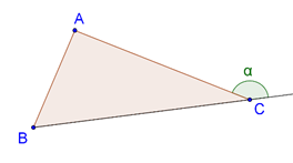 Extended triangle