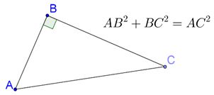 Pythagoras Theorem and right-angled triangle
