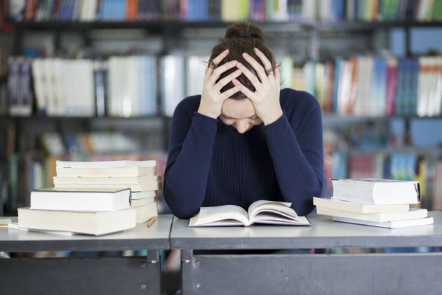 Child not able to cope with Academic stress