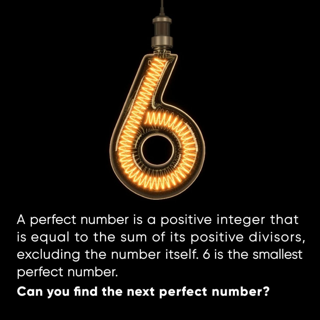 find perfect number