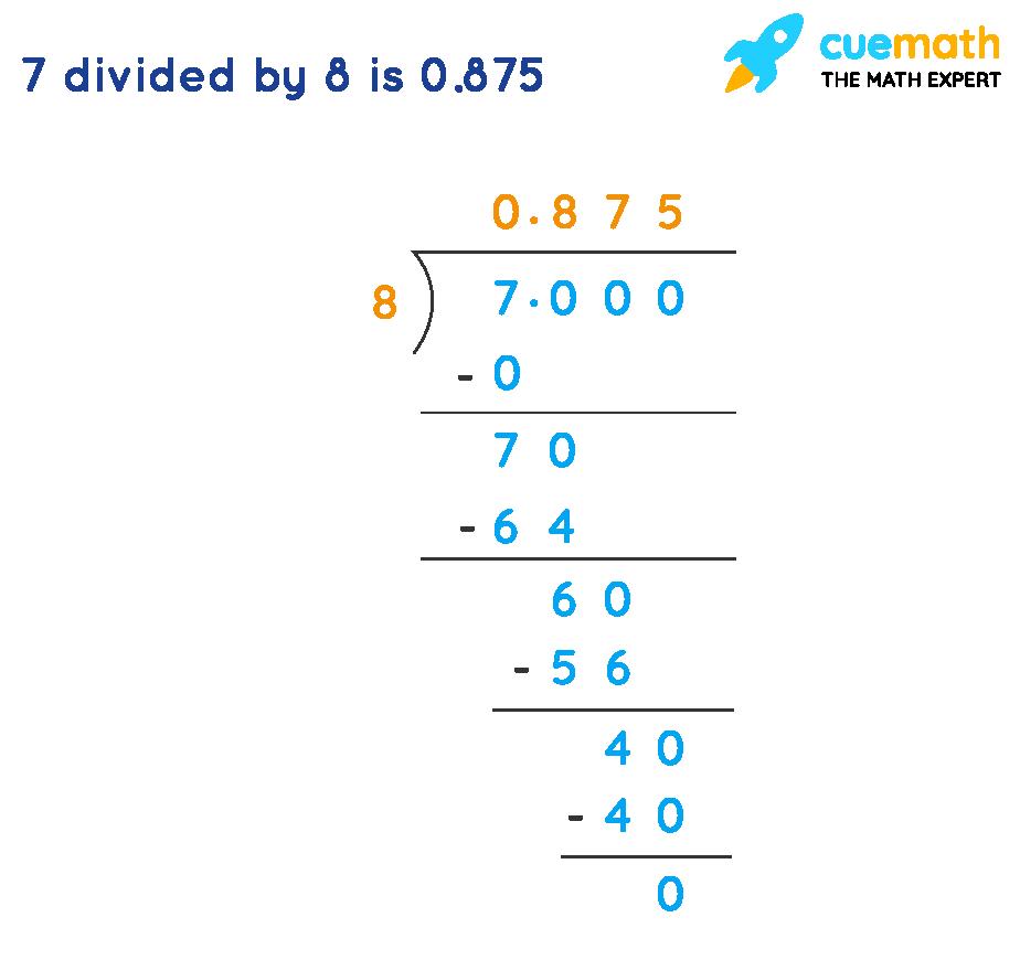 convert 7/8 to decimal