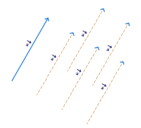 Vector remains same example