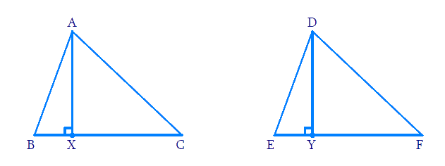 Altitudes of triangles