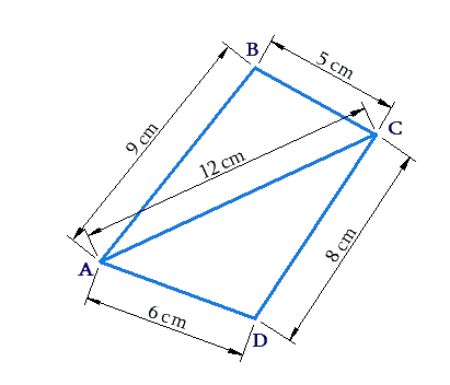 Example of area of quadrilateral