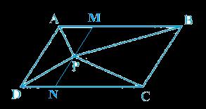 ar (APD) + ar (PBC) = ar (APB) + ar (PCD)