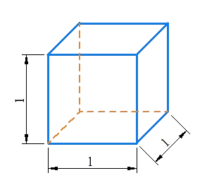 Cube is equi-dimensional cuboid