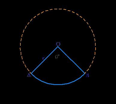 Area and Perimeter of circle segment