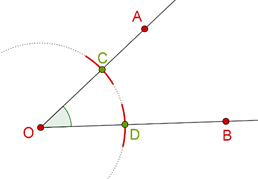 Bisecting triangle