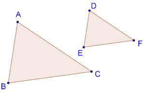 Equi-angular triangles - sides are proportional