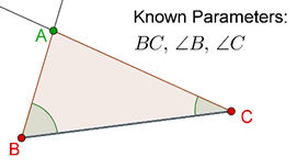 Triangle - known parameters
