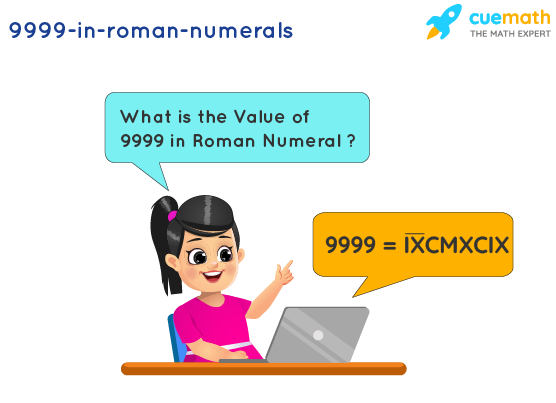 9999 in Roman Numerals