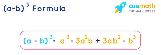 a minus b whole cube formula