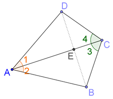 Diagonals are perpendicular to each other