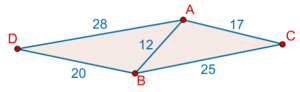 Area of quadrilateral