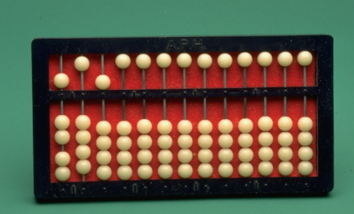 Cranmer Abacus for Blind people