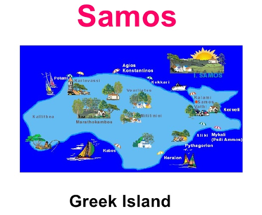 Greek island image