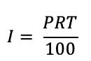 Interest formula