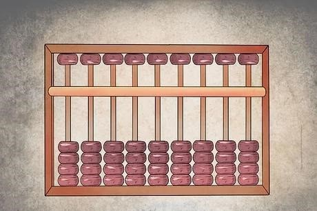 Counting on abacus 1
