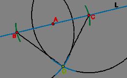 Perpendicular intersecting